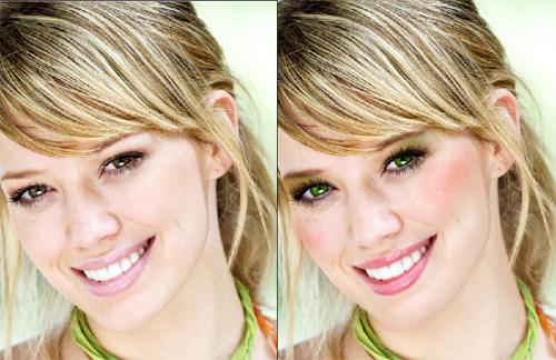 Как наложить цифровой макияж в Photoshop