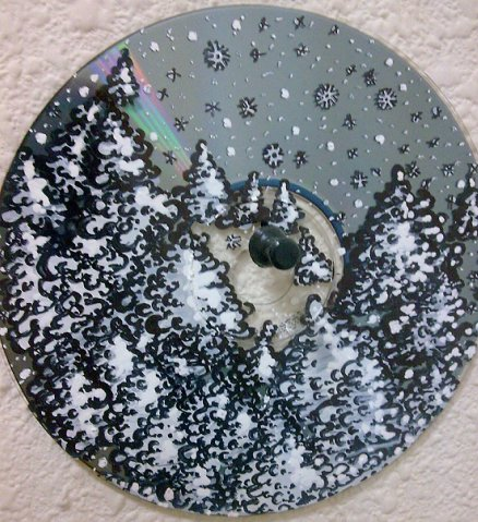 Как нанести рисунок на диск