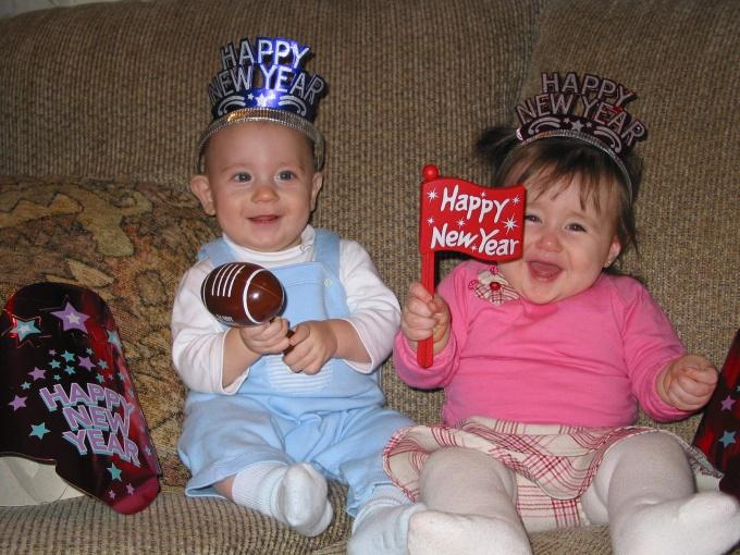 Новый год дарит чудесные чувства детям и взрослым.