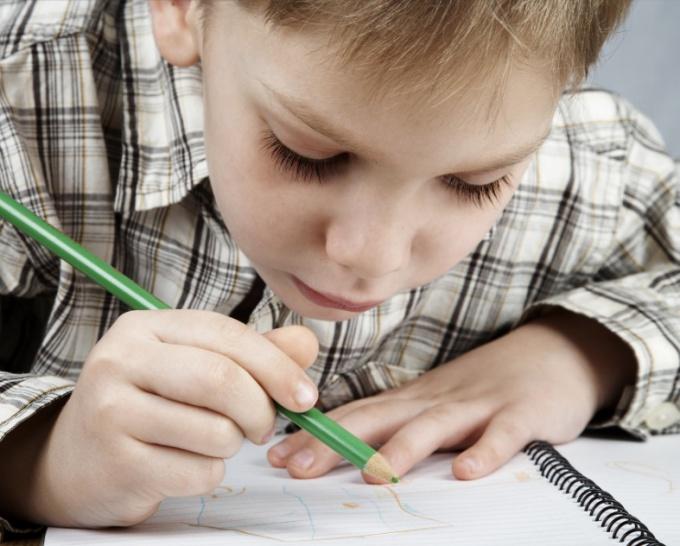 Как научить писать цифры