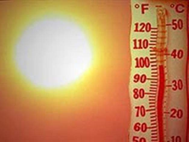 Как нарисовать жару