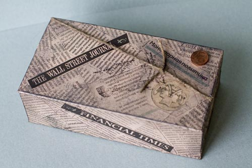 Копилка для бумажных купюр своими руками