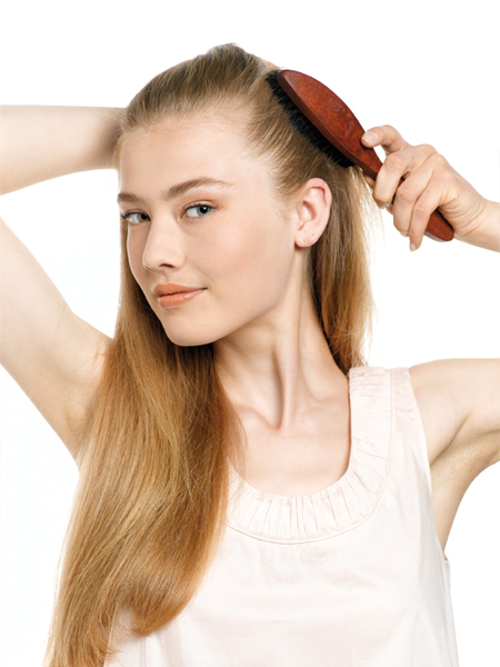How to weave a harness on the hair