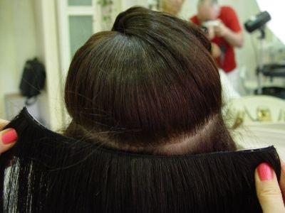 Как прикреплять <b>накладные</b> <strong>волосы</strong>