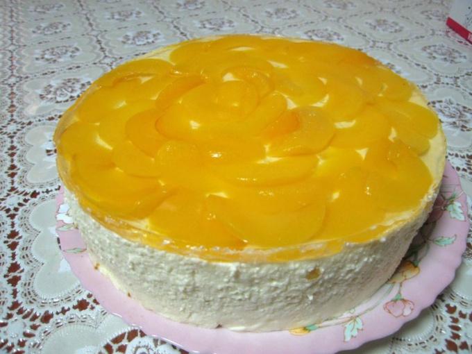 Творожно-йогуртовый торт покорил сердца своей легкостью