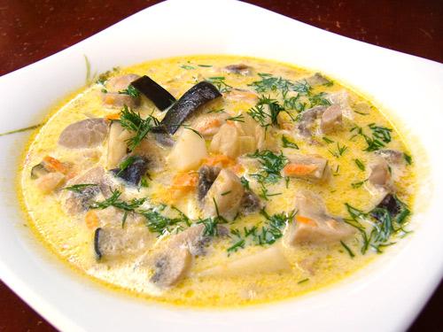 Суп из опят - вкусное и питательное блюдо