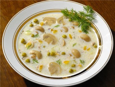 Сырный суп - питательное и вкусное блюдо
