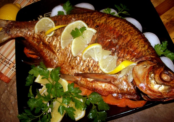 How to bake bream