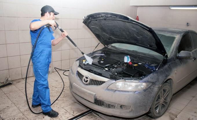Как отмыть мотор