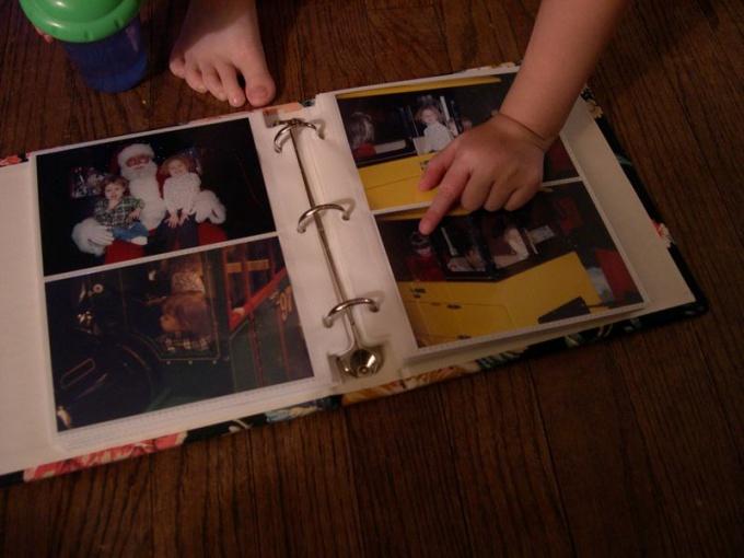 How to make a photo album