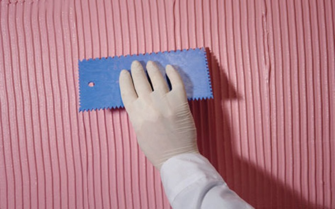 How to apply the most textured plaster