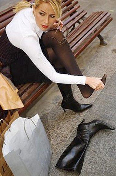 Подагра и обувь с узким носком - несовместимо