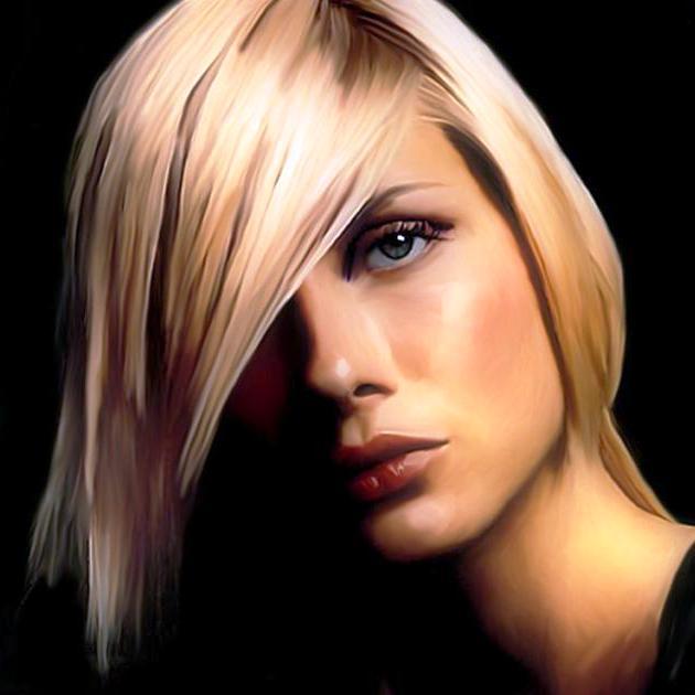 Как покрасить волос в светлый тон