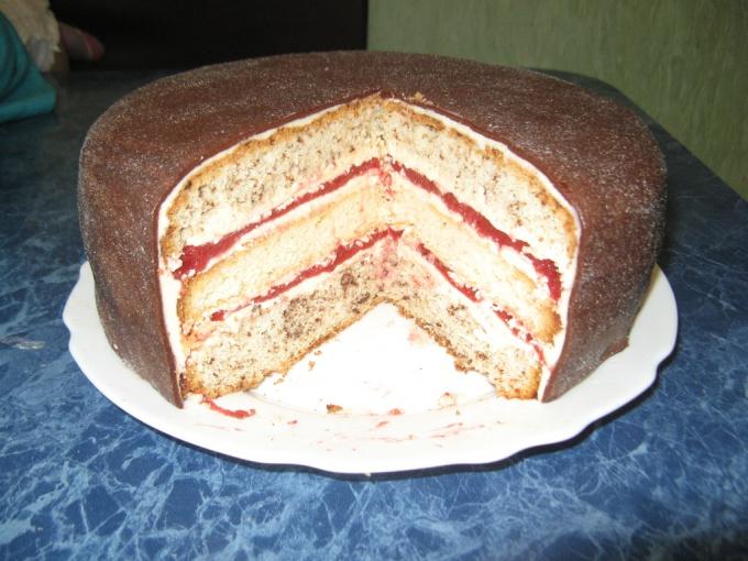 """Как готовить торт """"поцелуй"""""""