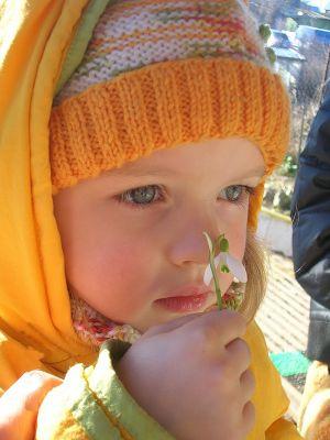 Как одевать <strong>ребенка</strong> <b>весной</b>