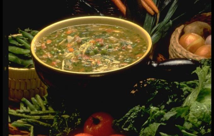 Диетический суп - на страже вашей талии
