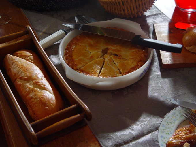 Как приготовить пирог с мясом и картошкой