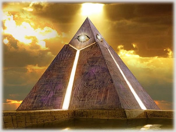 How to build a pyramid healing