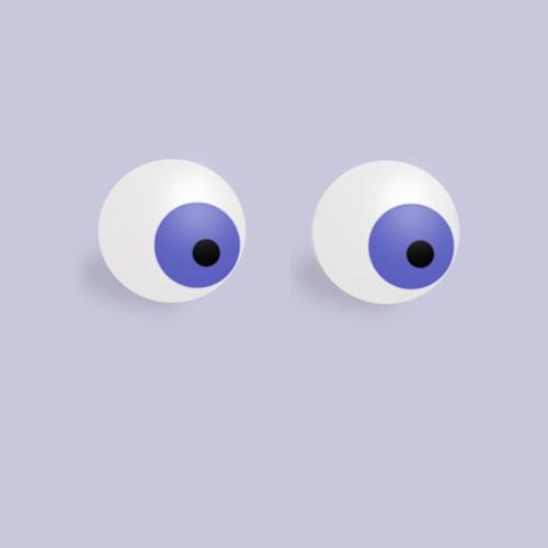Как слепить глаза