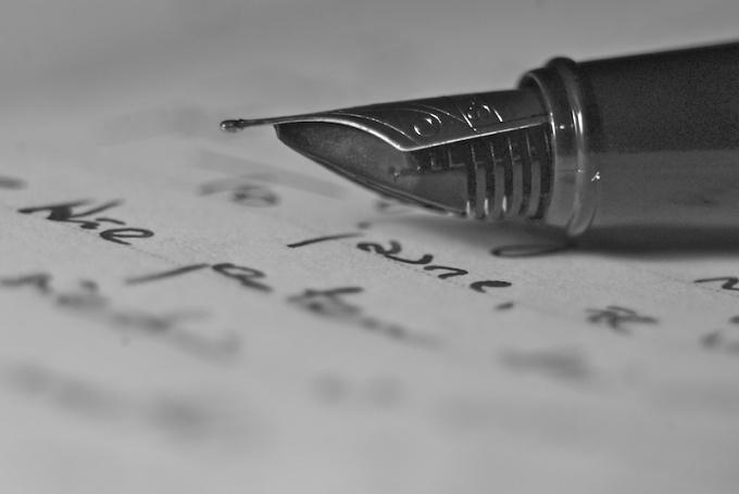 Как подписать открытку любимой