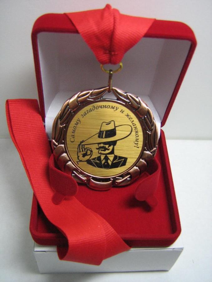 Как продать медаль