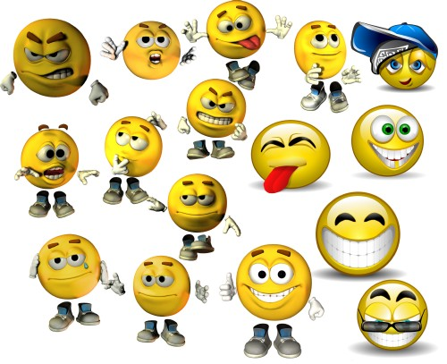 How to copy smileys
