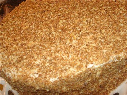 Как приготовить торт-сметанник