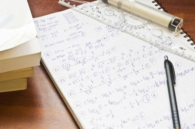 Как решать задание из ЕГЭ по алгебре