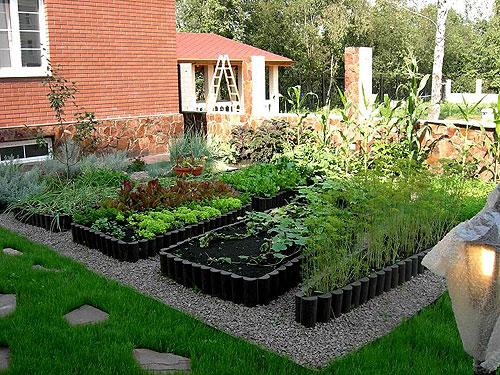 Как обустроить огород