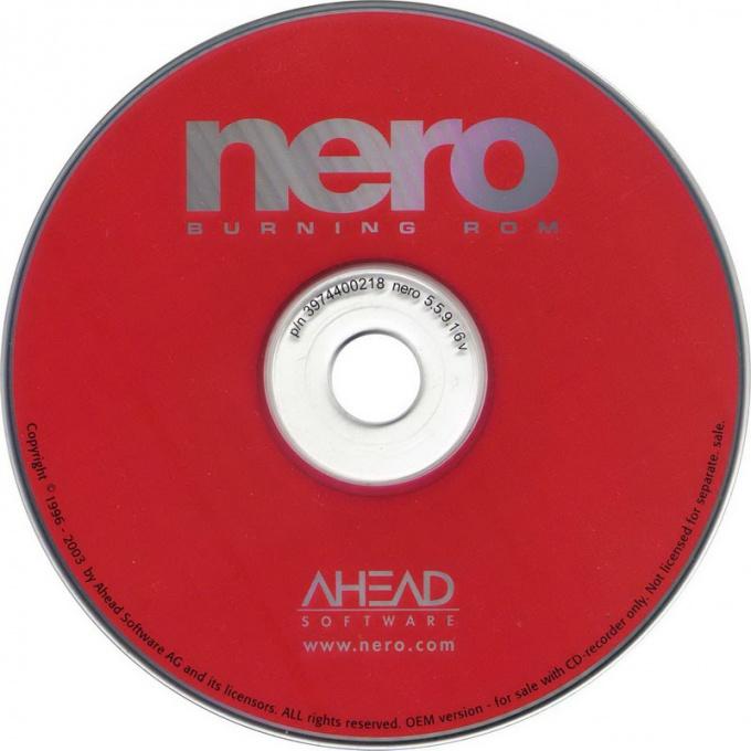 Как создавать образы с поддержкой Nero