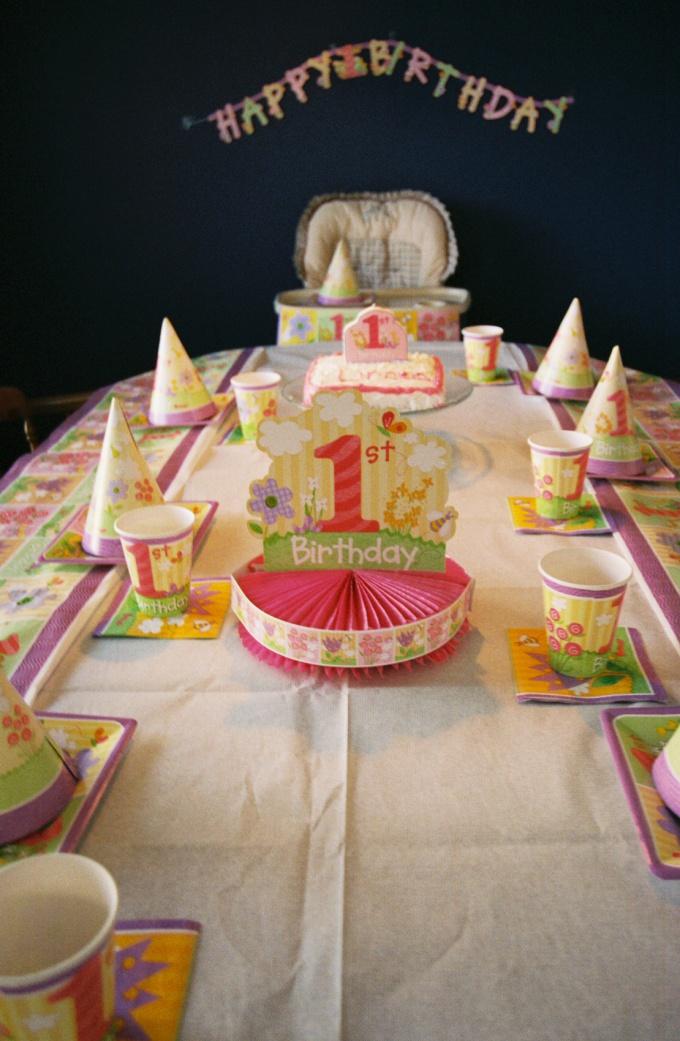 Как праздновать 1 год ребёнку