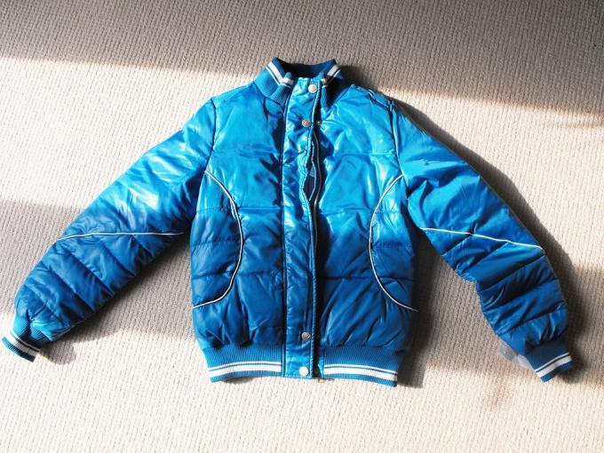 Как перекрасить куртку