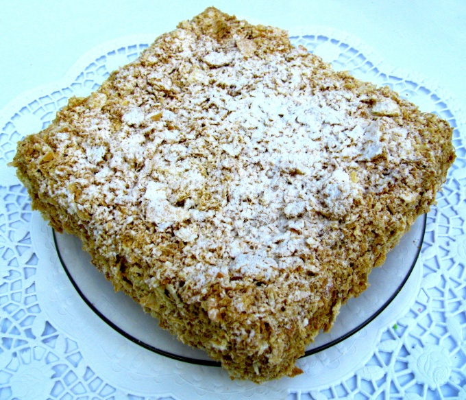 """Как готовить торт """"Наполеон"""""""