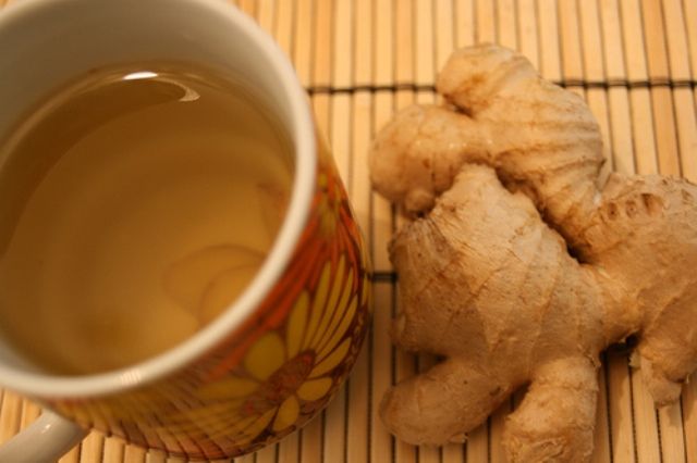 How to drink ginger tea
