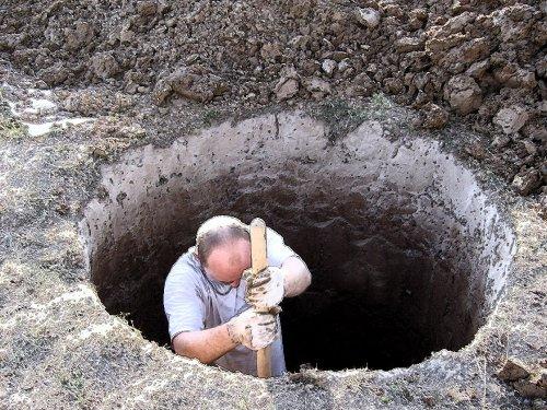 Как выкопать скважину