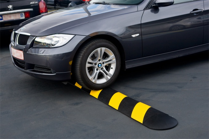 How to install a speed bump