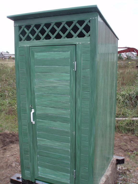 Как построить туалет на участке