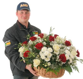 Как отправить цветы в иной город