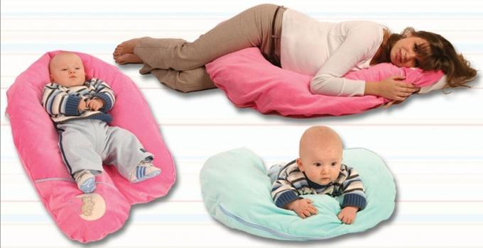 Как сшить подушку для кормления