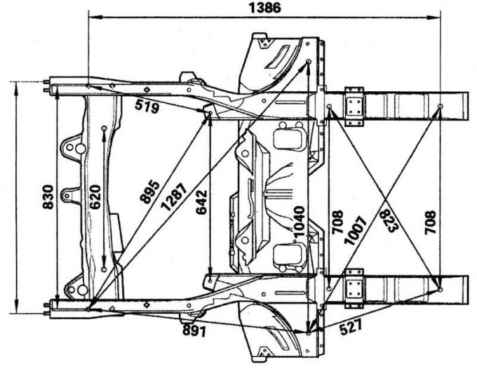 Как проверить геометрию кузова