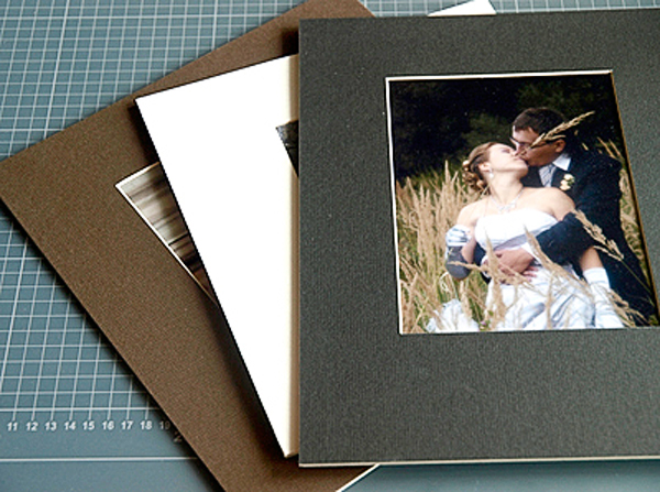 How to make a Mat for pictures