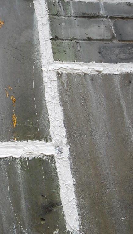 Как заделать швы в стене
