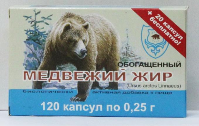 Как принимать медвежий жир