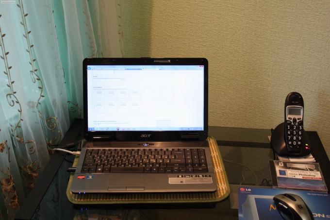 Как создать интернет в ноутбуке