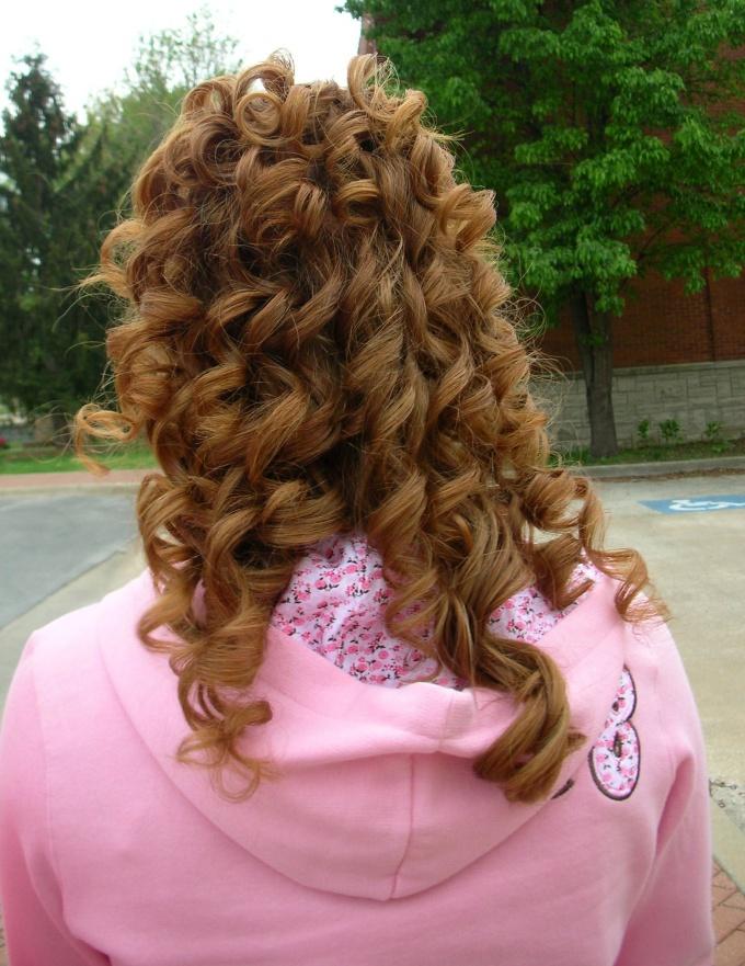 Как избавиться от кудрявых волос
