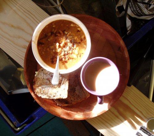 Как приготовить суп из семги