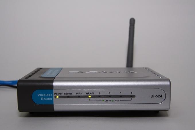 Как настроить модем D-link в сети