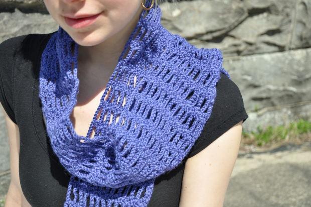 Как завязывать большие шарфы