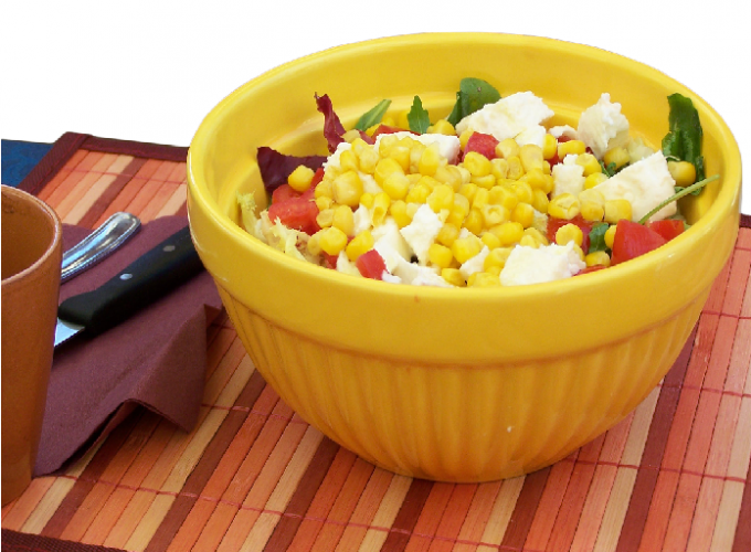 Как приготовить салат из кукурузы