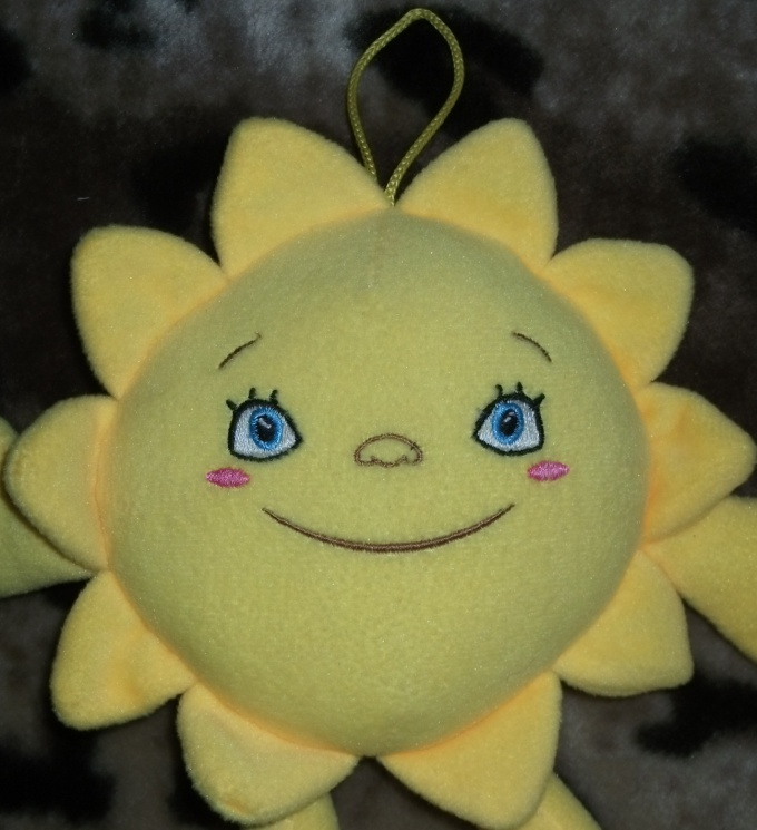 Солнышко лучистое своими руками
